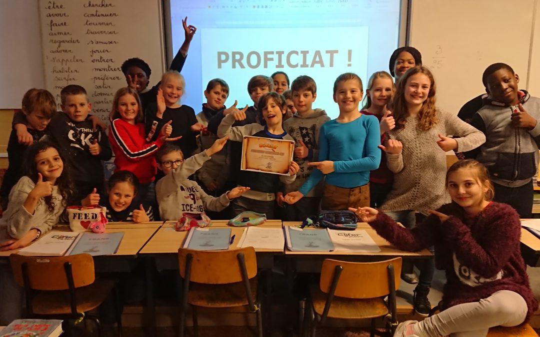 Vijfde leerjaar van de Plataan naar halve finale Whizzkidsquiz