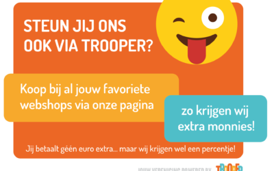 Steun De Plataan en je kinderen door online te shoppen.