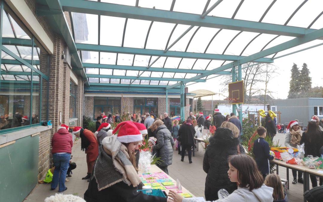 Kerstmarkt op school